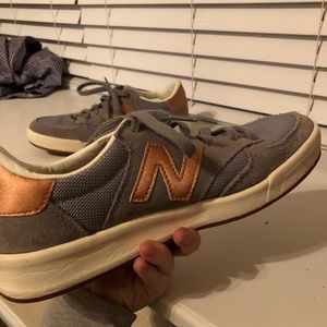Rose gold NB REVlite shoes